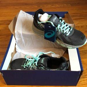 ASICS Gel-Venture 6 Castlerock/Silver Running Shoe